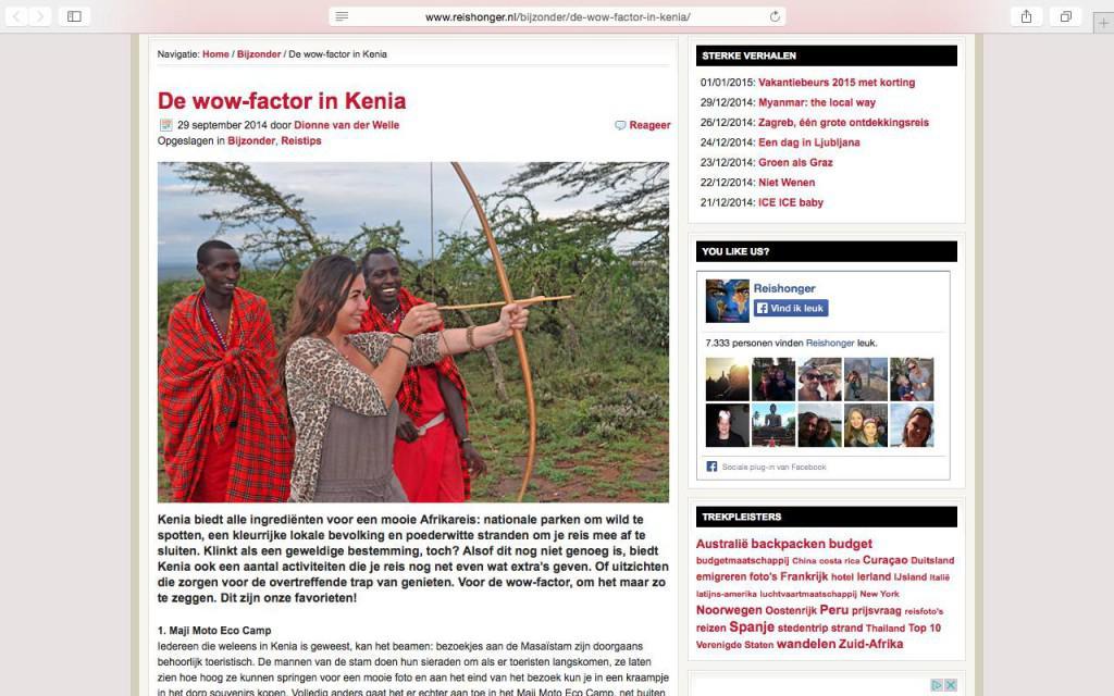 artikel-reishonger-kenia