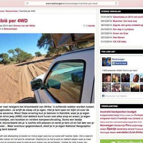 Reishonger.nl - Namibië