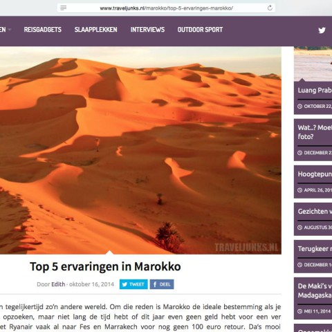 Traveljunks.nl - Marokko