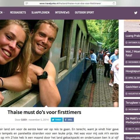 Traveljunks.nl - Thailand