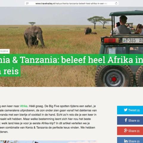 Travelvalley.nl - Kenia & Tanzania
