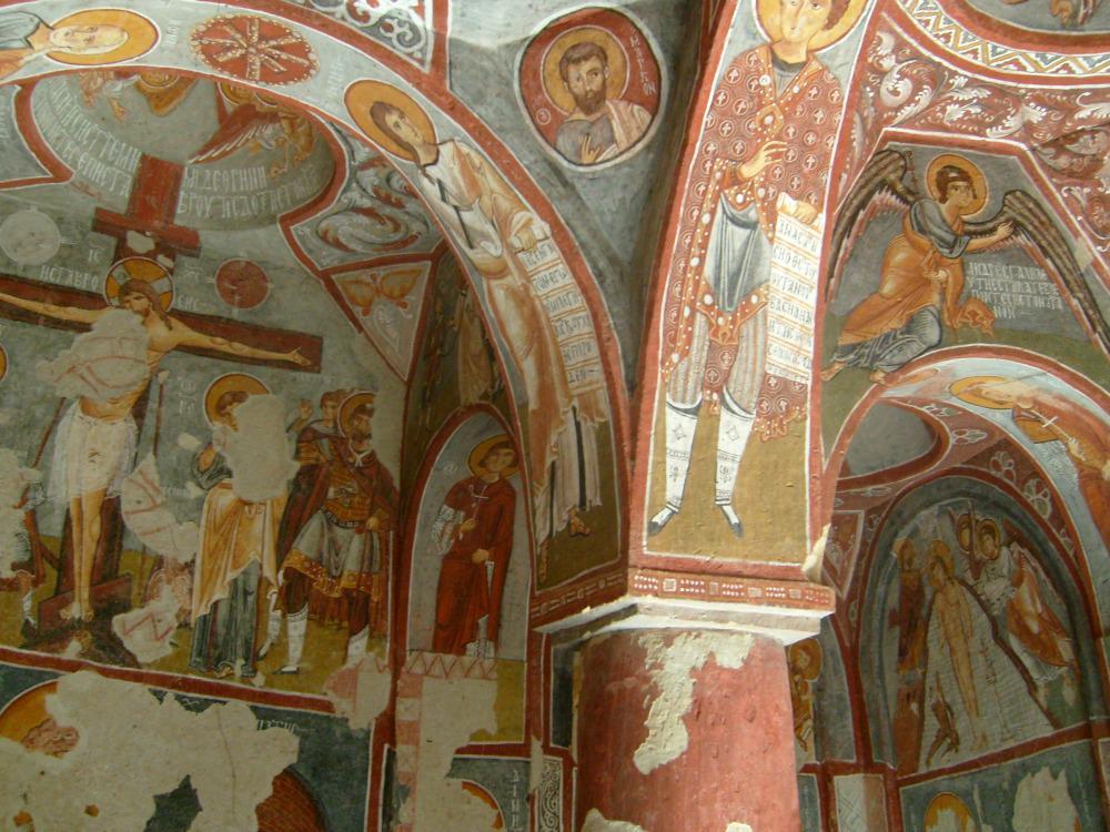 turkije-cappadocie-kerk-fresco