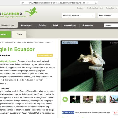 Naturescanner.nl - Ecuador