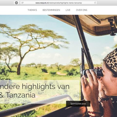 Reisjunk.nl - Kenia & Tanzania