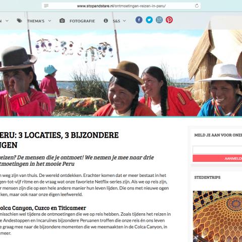 Stopandstare.nl - Peru