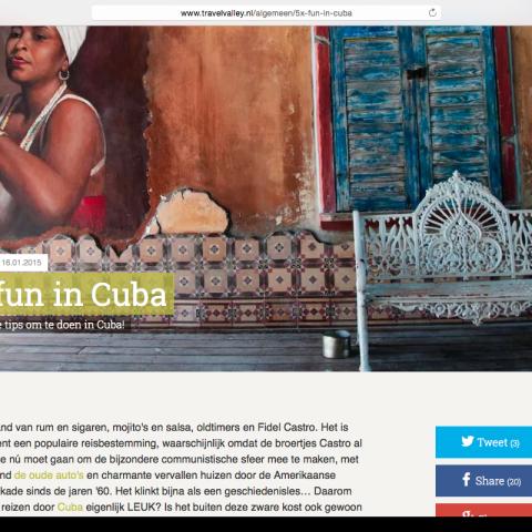 Travelvalley.nl - Cuba