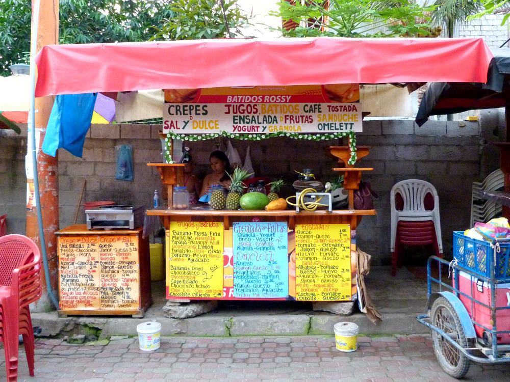 budget-reizen-ecuador-ontbijt