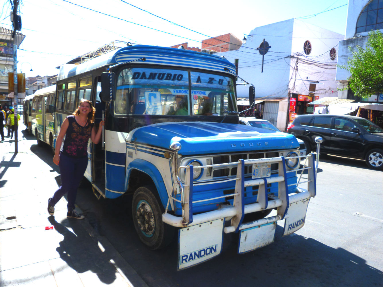 sucre bolivia tips - lokale bus