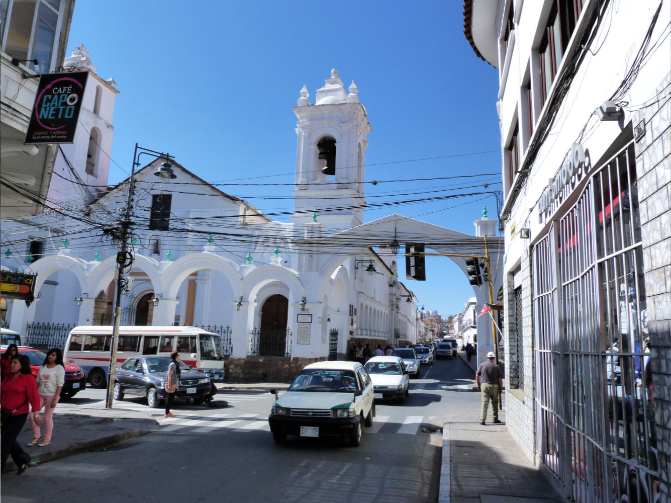 sucre bolivia tips - straatbeeld
