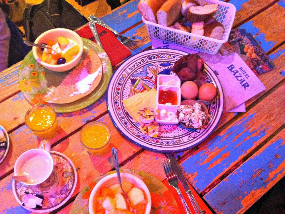 Wonen in Rotterdam betekent dus ook: ontbijten bij Bazar :-)