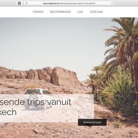 Reisjunk.nl - Marokko