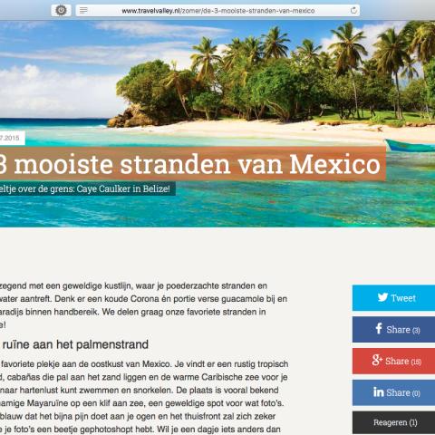 Travelvalley.nl - Mexico