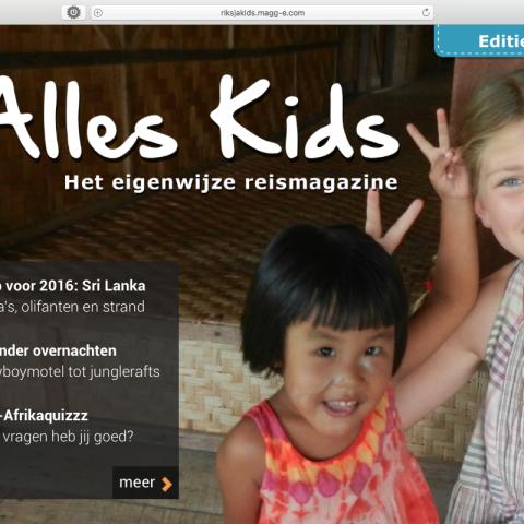 RiksjaKids online magazine