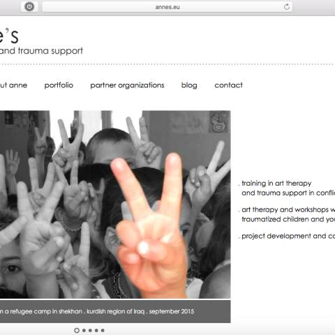 Annes.eu - websitebeheer