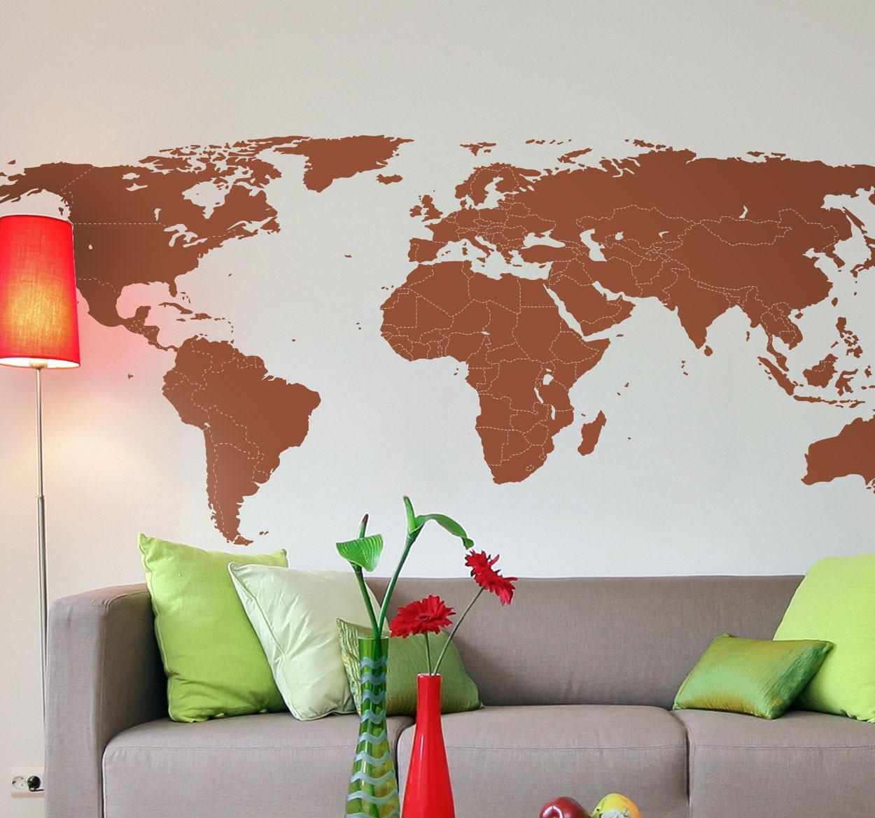 winactie-muursticker-wereldmap-met-grenzen