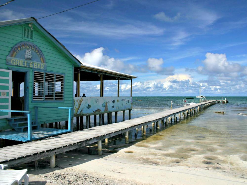 Reisroute Guatemala Belize Mexico - Caye Caulker