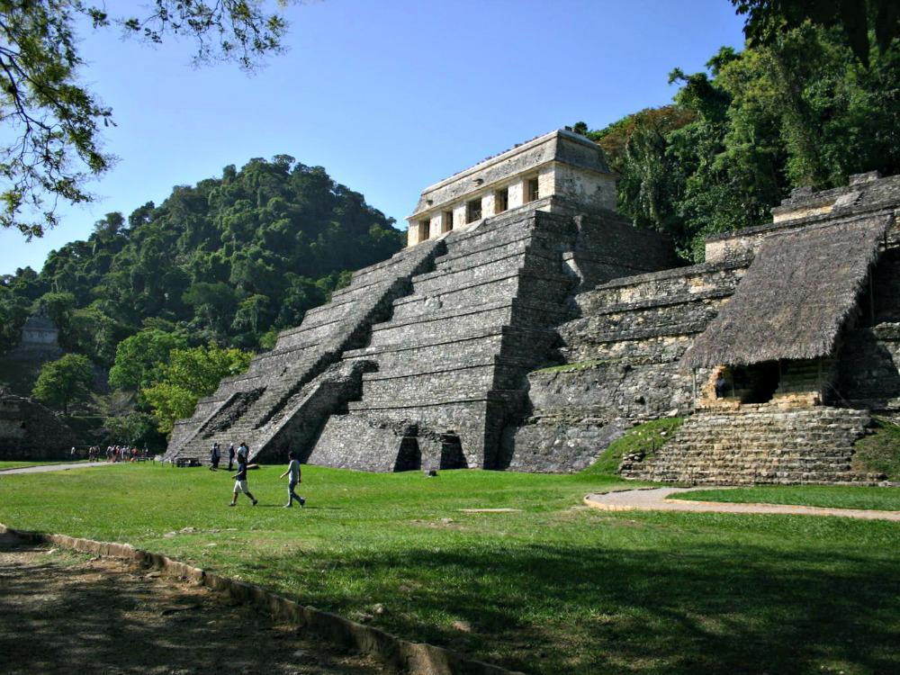 Reisroute Guatemala Belize Mexico - Palenque