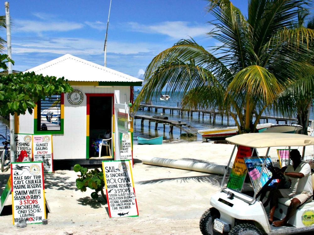 Backpacken Mexico Guatemala Belize - Caye Caulker