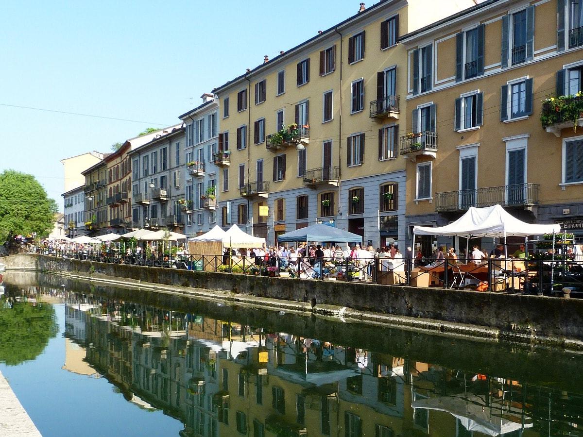 citytrip Milaan Navigli tips