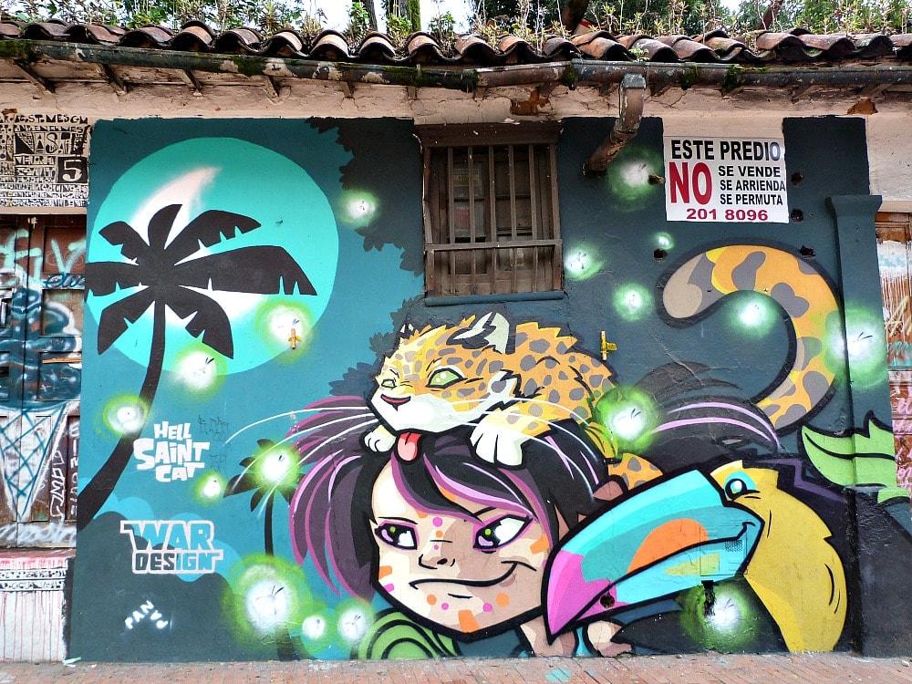 street art bogota colombia