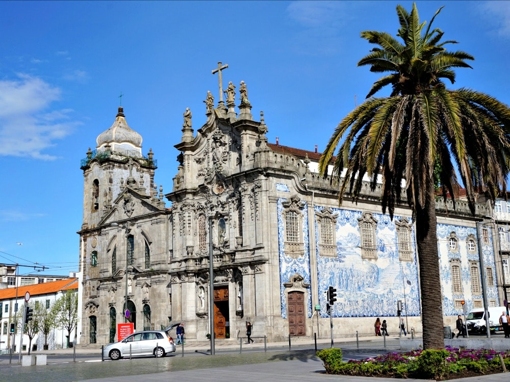 citytrip Porto - kerk met azulejos