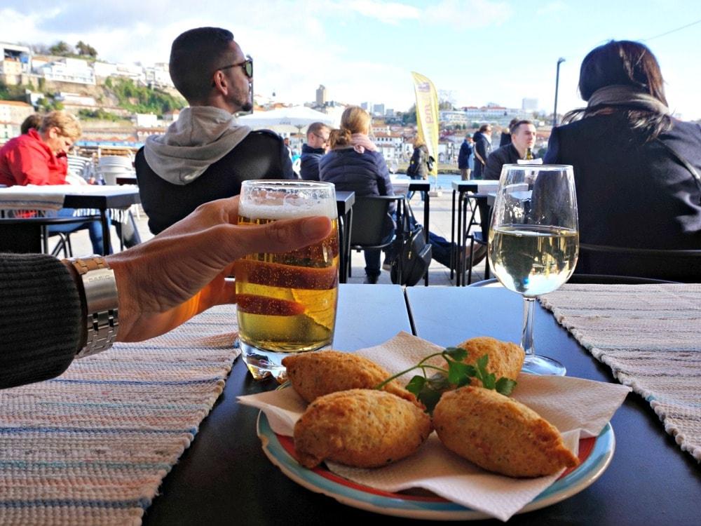 citytrip Porto tips - snacks en port