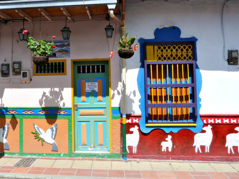 drie weken Colombia route guatape