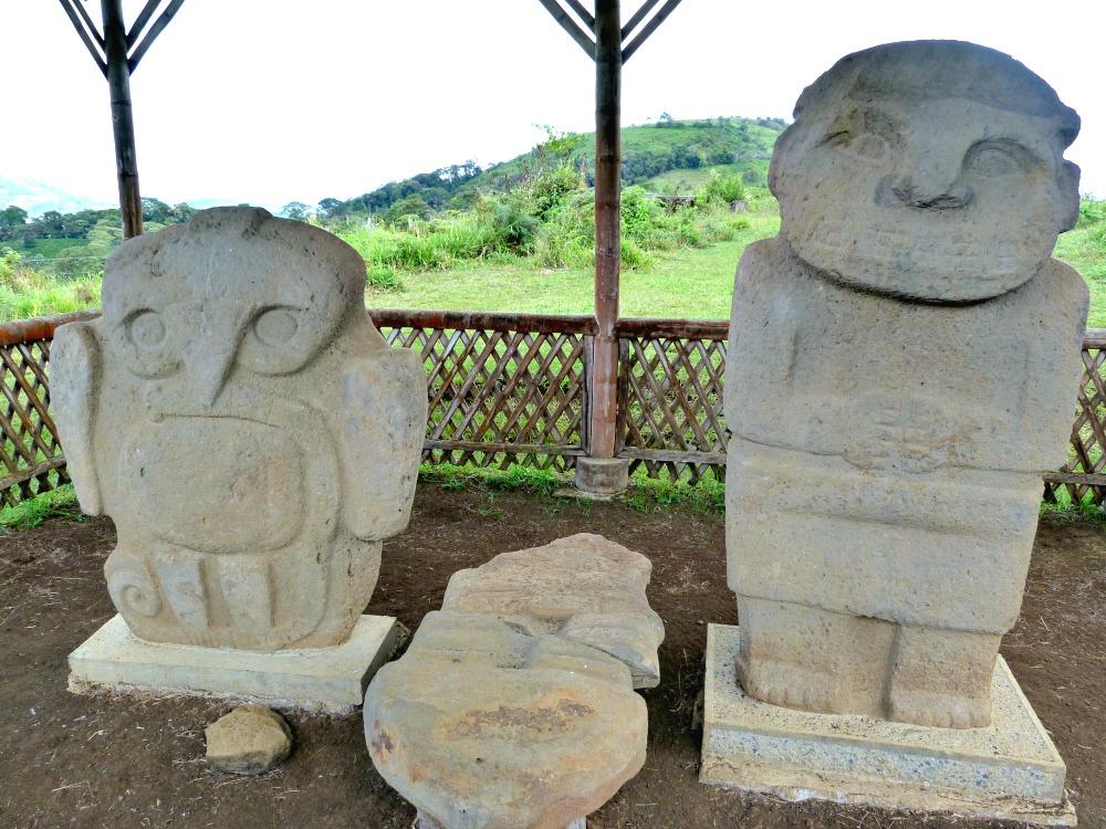 3 weken Colombia route San Agustin