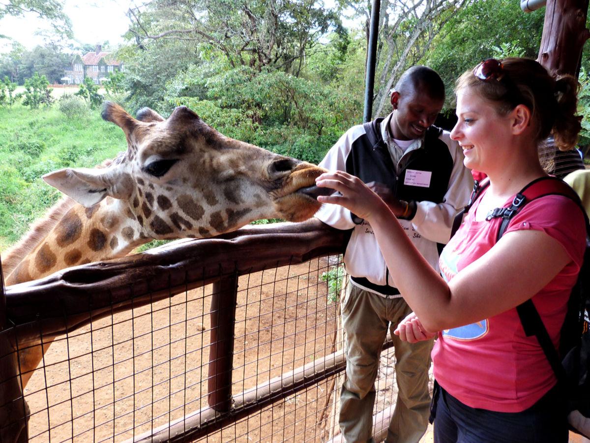 visum kenia aanvragen - giraffe center