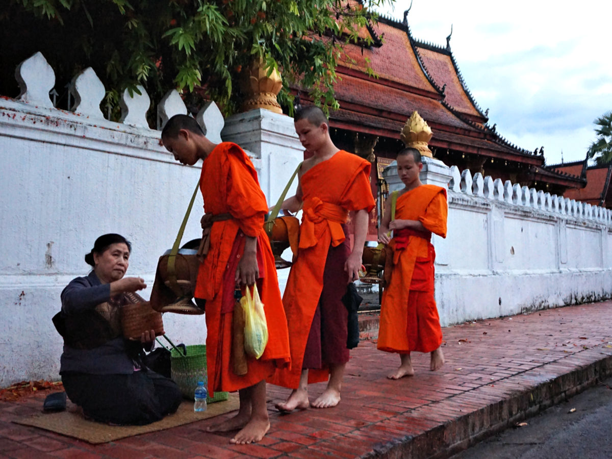 Luang Prabang, Laos - monniken