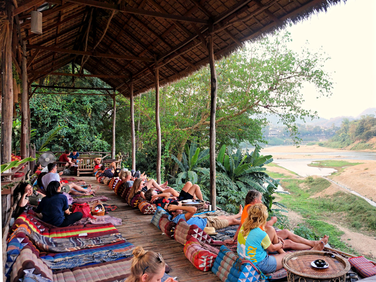 Luang Prabang, Laos - Utopia bar