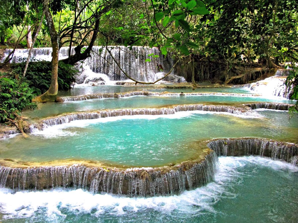 dagtrip Luang Prabang Kuangsi waterval