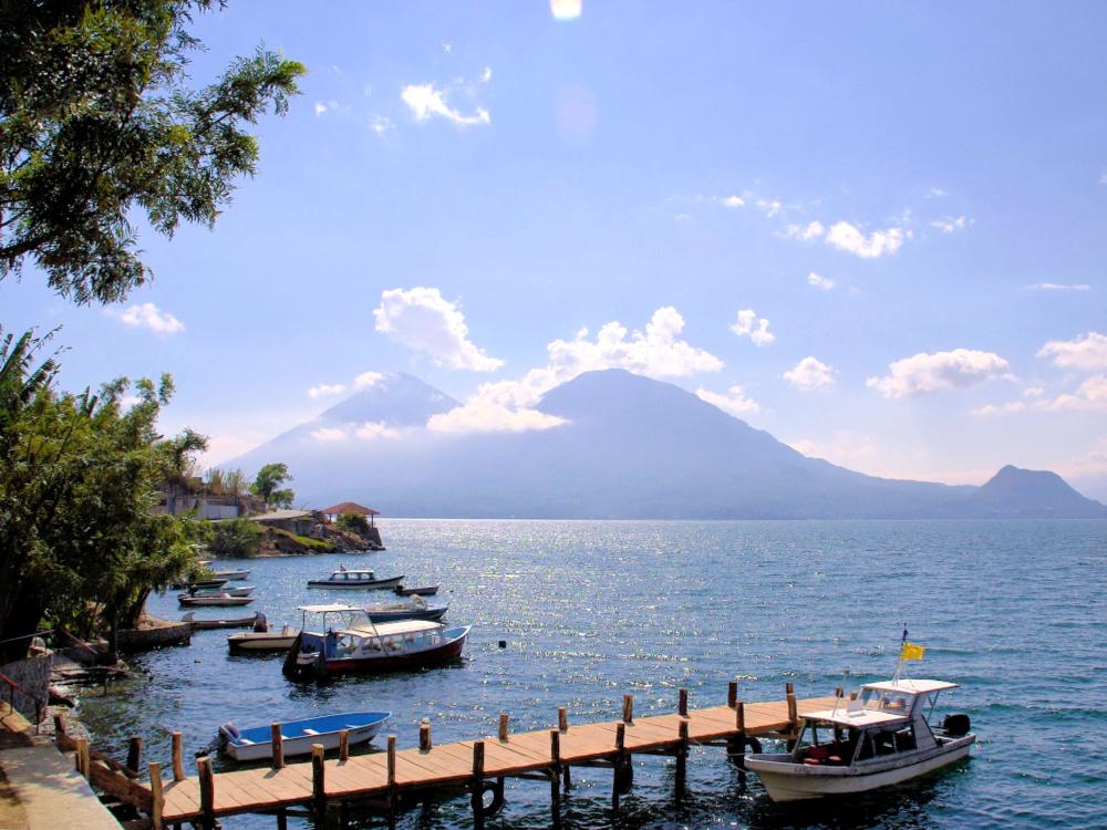 guatemala atitlan uitzicht