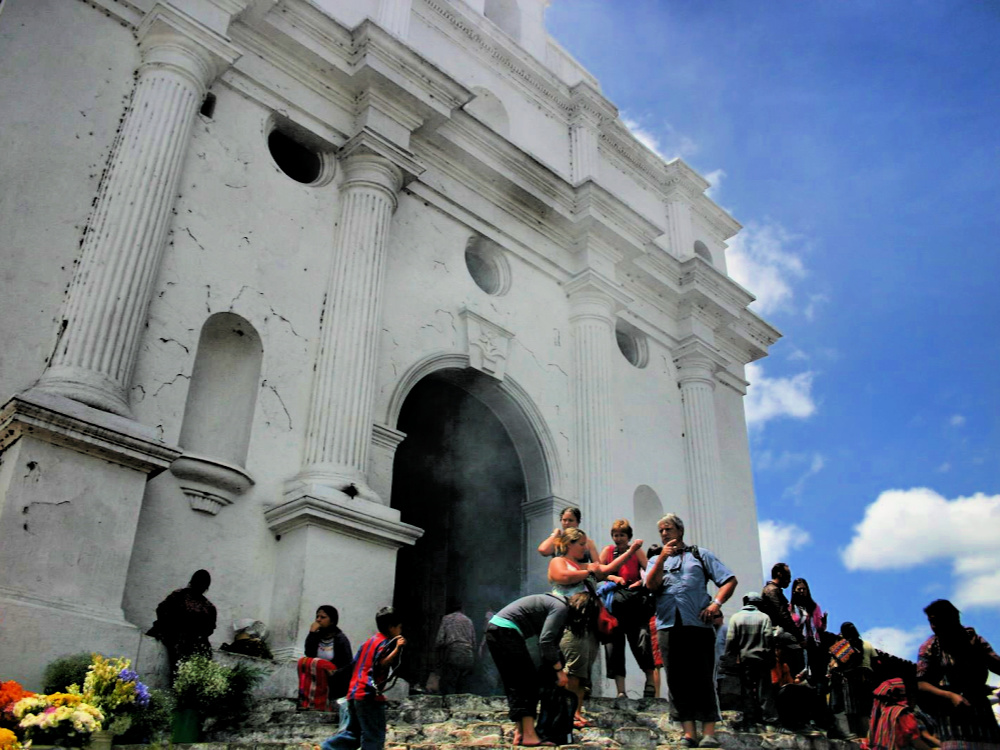 guatemala chichicastenango kerk