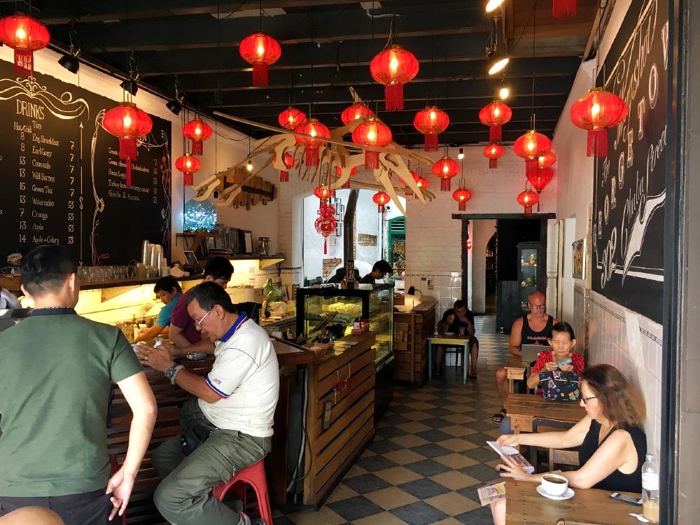 Mugshot Cafe tips george town penang