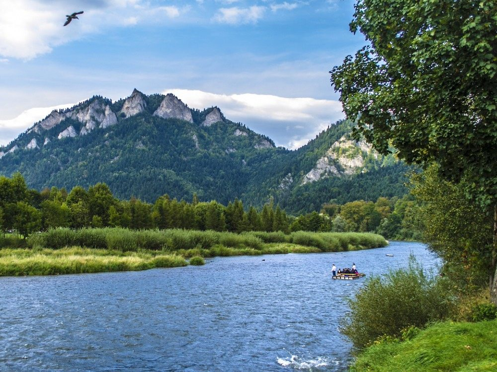 zakopane zomer polen - dunajec-rivier