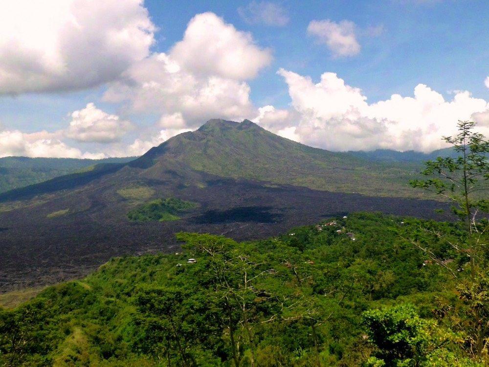 vulkaan beklimmen bali - batur overdag